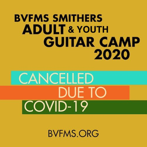 Guitar Camps Cancelled